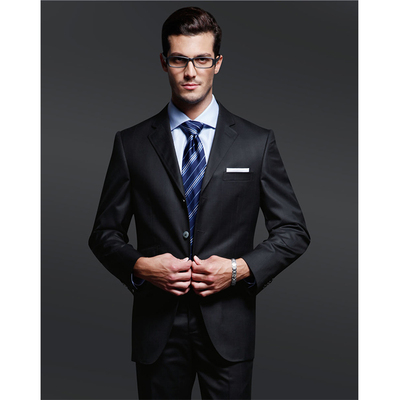 Complete 2 pieces coat pants men business suit