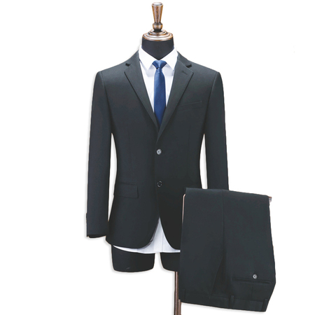 Men's Fit 3 Piece Suit Two Button Blazer Vest & Trousers Coat Pant Men Suit