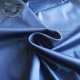 62%C 35%N 3%SP cotton polyamide spandex stretch satin fabric
