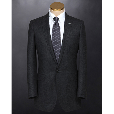 Luxury cashmere wool custom bespoke men business suit