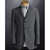 Latest design bespoke grey coat pant men suit