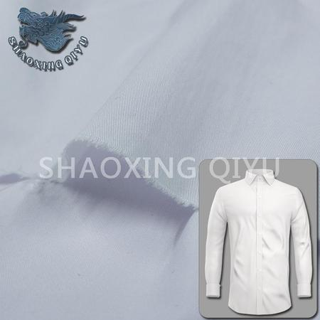 65%C 31%N 4%SP STRETCH SHIRT TWILL FABRIC