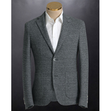 Custom wool suit man blazer and pants